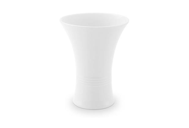 Friesland Vase, Jeverland, Friesland, 15 cm weiß