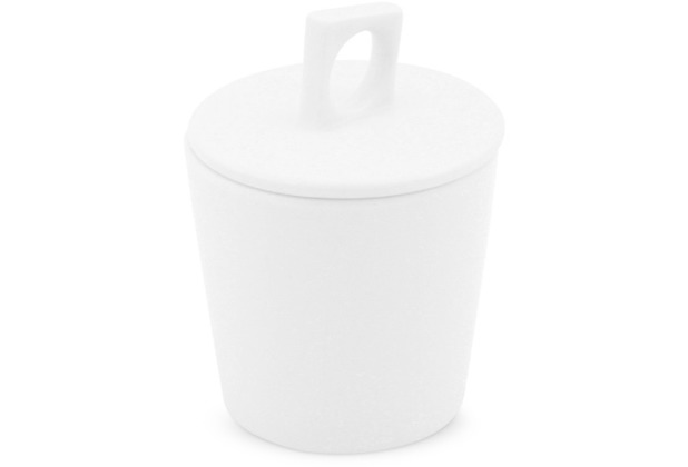 Friesland Zuckerdose, 0,18l NYNY Weiß Walküre Porzellan