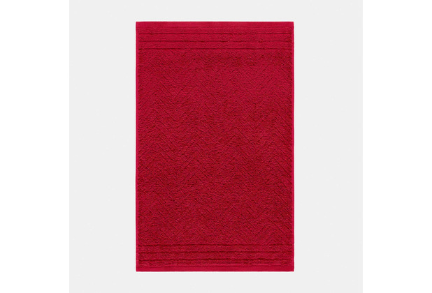 frottana Gästetuch Elegance rubin 30 x 50 cm