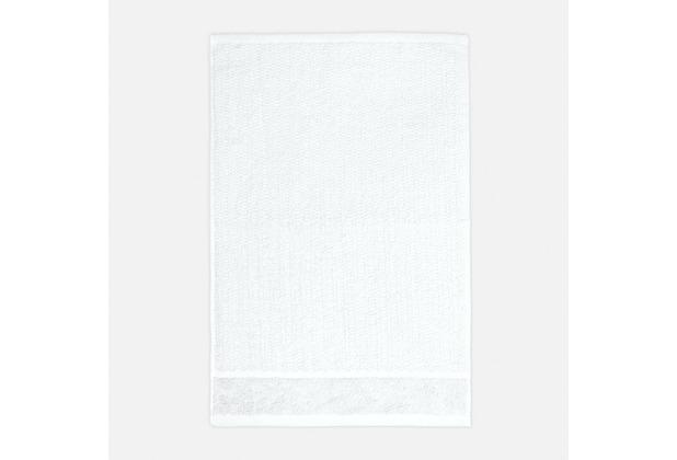frottana Gästetuch Pearl weiß 30 x 50 cm