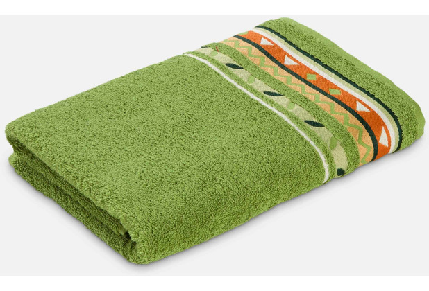 frottana Handtuch Country peridot 50 x 100 cm