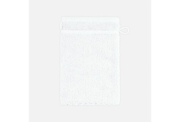 frottana Waschhandschuh Pearl weiß 20 x 15 cm