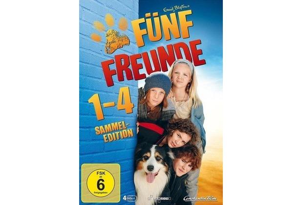 Fünf Freunde 1-4 [DVD]
