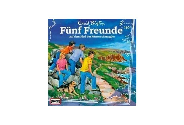 Fünf Freunde 110 auf dem Pfad der Küstenschmuggler Hörbuch