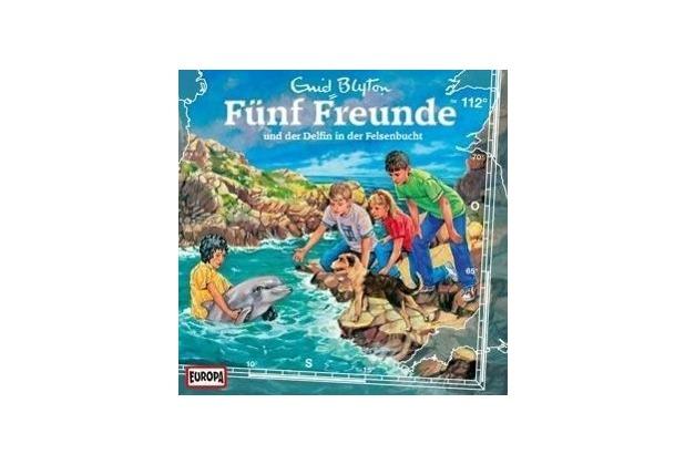 Fünf Freunde 112 und der Delfin in der Felsenbucht Hörspiel