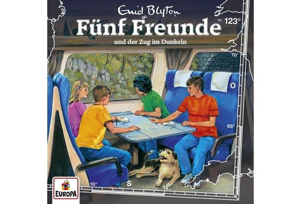 Fünf Freunde 123 und der Zug im Dunkeln Hörbuch