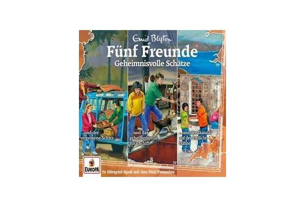 Fünf Freunde - 3er-Box 31.Geheimnisvolle Schätze (Folgen 101 / 106 / 114) Hörbuch
