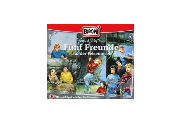 Fünf Freunde Box 23. Auf der Felseninsel Hörspiel