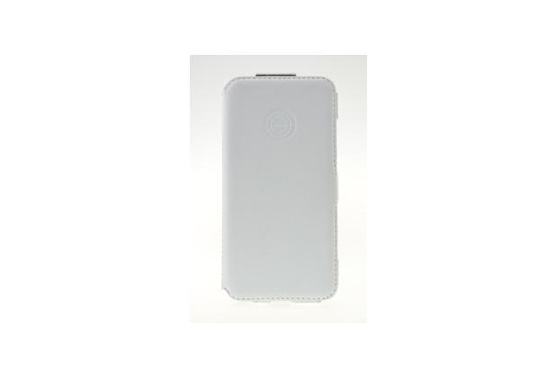 galeli Book Case Slim für Apple iPhone 6, Weiß