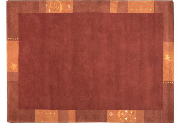 Nepalteppich Ganges 991 terra 160 x 230 cm
