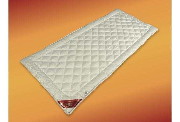 GARANTA Cotton Auflage, weiß 90x190 cm