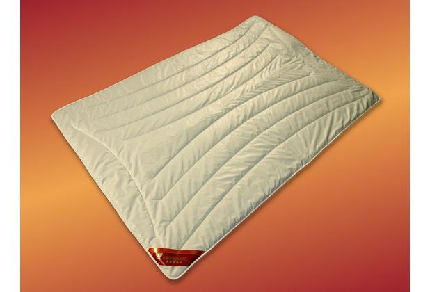 GARANTA Kamelhaar Extra-Leichtsteppbett, weiß 135x200 cm