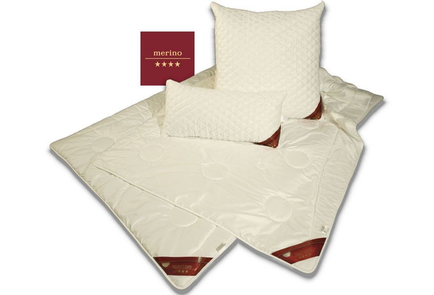 GARANTA Merino Extra-Leichtbett Bettdecke 135/200