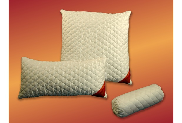 GARANTA Merino-Nackenrolle, weiß 40x15 cm