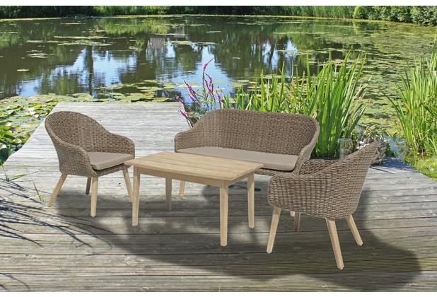 Garden Pleasure Sofa & Stuhl Set PUEBLO, 3-teilig 4041908099532 | eBay