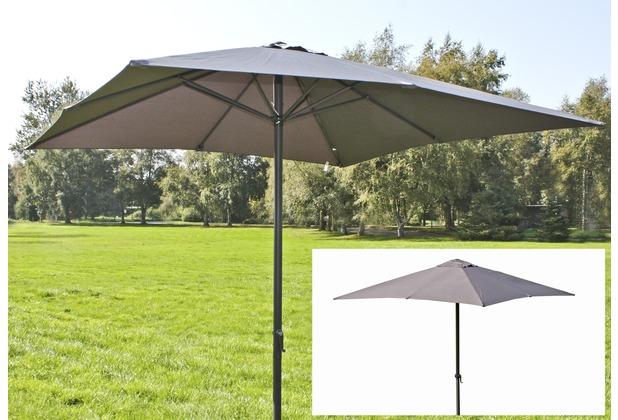 Garden Pleasure Sonnenschirm, 250x250cm, 8 Streben