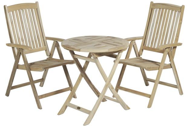 garden pleasure tisch java klappbar rund 70 teak ebay. Black Bedroom Furniture Sets. Home Design Ideas