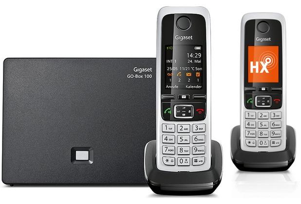 Gigaset C430A GO Duo, schwarz
