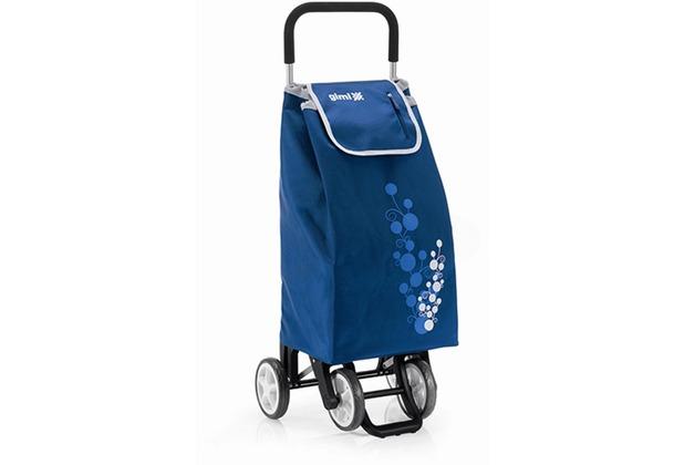 """Gimi Einkaufsroller \""""Twin\"""" Blue Höhe: 92 cm, Tragkraft: 30 kg"""