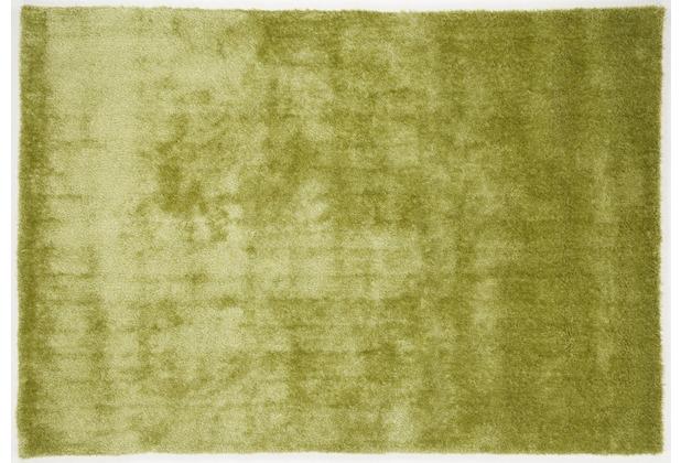 Gino Falcone Teppich Alessia Alessandro UNI 300 grün 120 x 180 cm