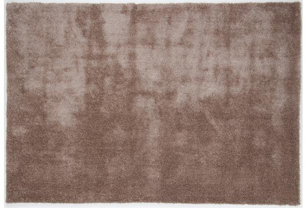Gino Falcone Teppich Alessia Alessandro UNI 550 beige 120 x 180 cm