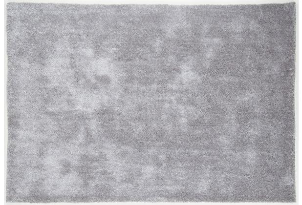 Gino Falcone Teppich Alessia Alessandro UNI 656 hell grau 120 x 180 cm
