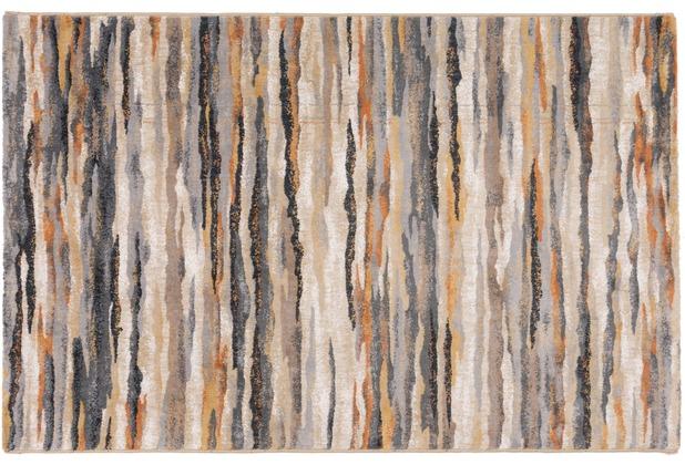 Gino Falcone Teppich Anna Maria GF-013 115 natur multi 80 cm x 150 cm