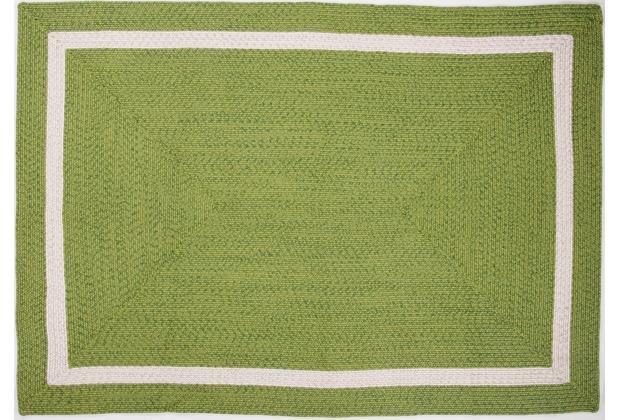 Gino Falcone Handwebteppich Benito 24463 300 grün 120 x 180 cm