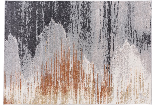 Gino Falcone Teppich Florentine GF-004 122 natur grau 80 cm x 150 cm