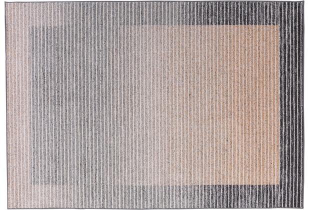Gino Falcone Teppich Florentine GF-005 123 natur braun 80 cm x 150 cm