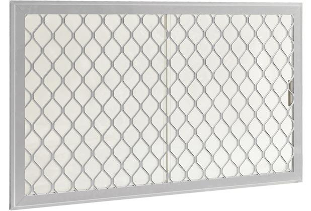 Globel Fenster-Kit 2, silber metallic