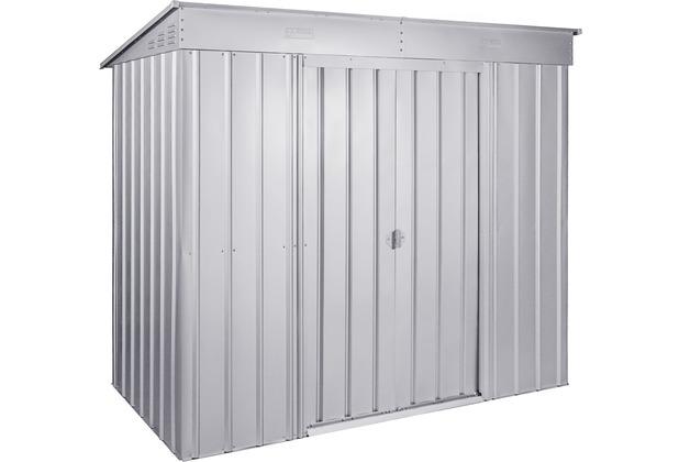 "Globel Pultdach \""Skillion\"", silber metallic 2,06 m²"