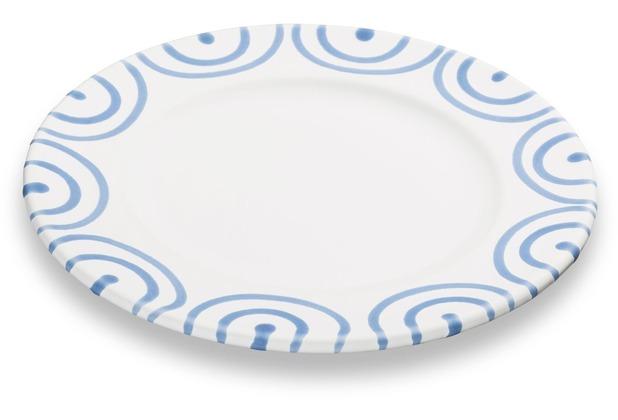 Gmundner Blaugeflammt, Dessertteller Gourmet (Ø18cm)
