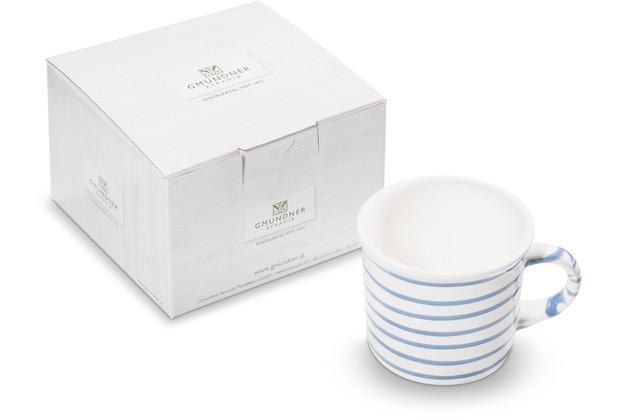 Gmundner Blaugeflammt, Kaffeehäferl glatt (0,24 L)