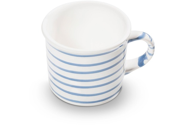 Gmundner Blaugeflammt, Kaffeehäferl glatt (0,24L)