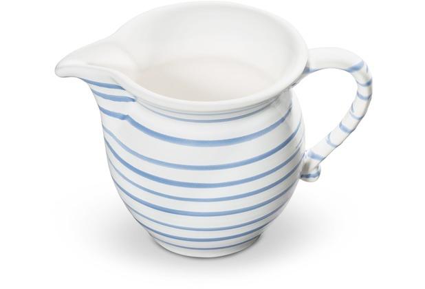Gmundner Blaugeflammt, Milchgießer glatt (0,5L)