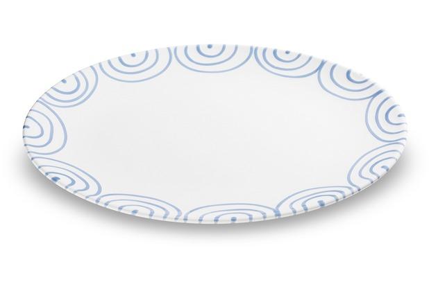 Gmundner Blaugeflammt, Platte oval (33x26cm)