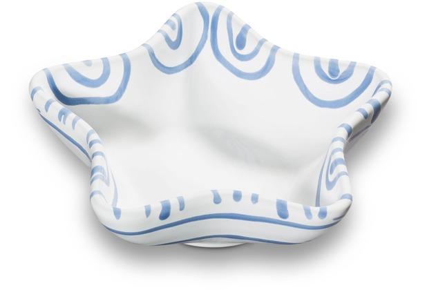 Gmundner Blaugeflammt, Sternschale Stella (L: 14cm)