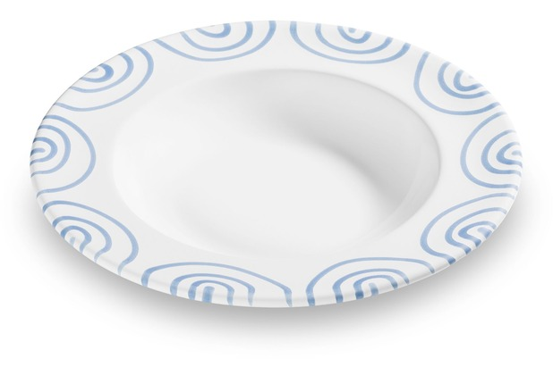 Gmundner Blaugeflammt, Suppenteller Gourmet (Ø 24cm)