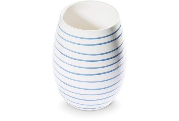 Gmundner Blaugeflammt, Vase (H: 21cm)