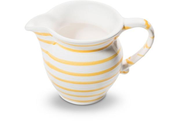 Gmundner Gelbgeflammt, Milchgießer glatt (0,3L)