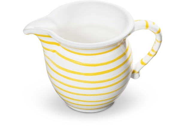 Gmundner Gelbgeflammt, Milchgießer glatt (0,5L)