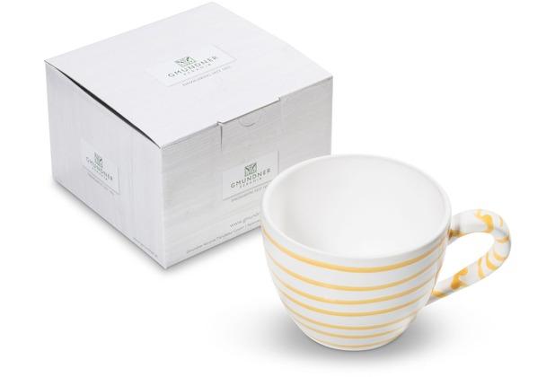 Gmundner Gelbgeflammt, Teetasse Maxima (0,4 L)