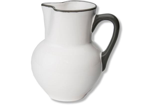 Gmundner Grauer Rand, Krug Wiener Form (1L)