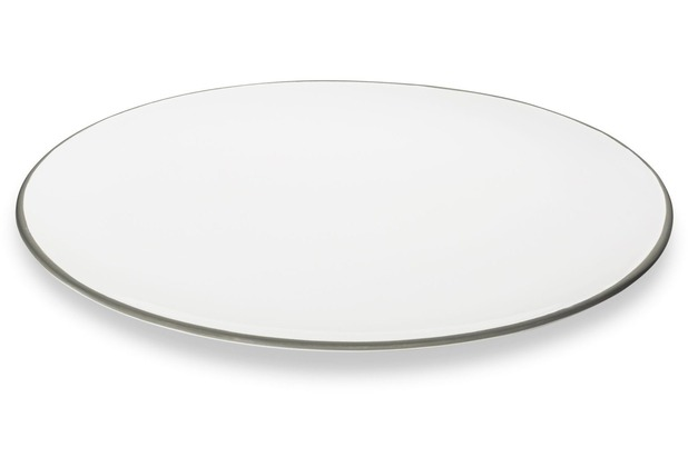 Gmundner Grauer Rand, Platte oval (28x21cm)