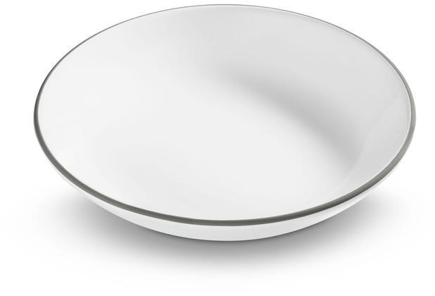 Gmundner Grauer Rand, Suppenteller Cup (Ø 20cm)