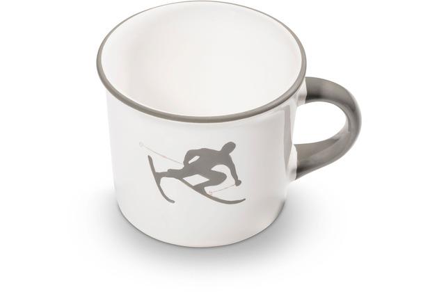 Gmundner Grauer Toni, Kaffeehäferl glatt (0,24L)