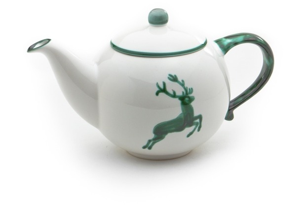 Gmundner Grüner Hirsch, Teekanne glatt 0,5L