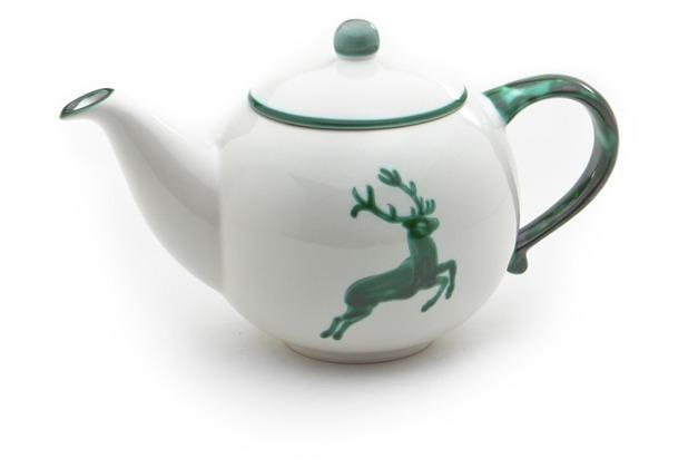 Gmundner Grüner Hirsch, Teekanne glatt 1,5L