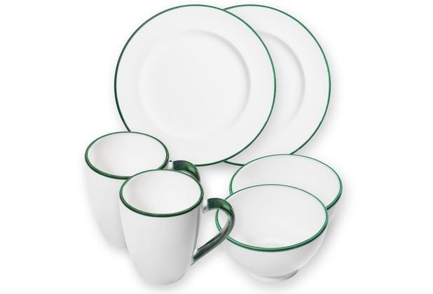 Gmundner Grüner Rand, Hüttenfrühstück für 2 Personen, großer Tellerrand